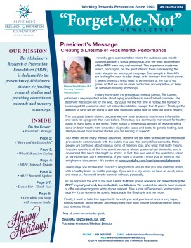 Cover image of Forget-Me-Not newsletter